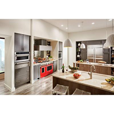"""48"""" KithenAid 6.3 Cu. Ft. Smart Commercial-Style Gas Range With Griddle - KFGC558JPA"""