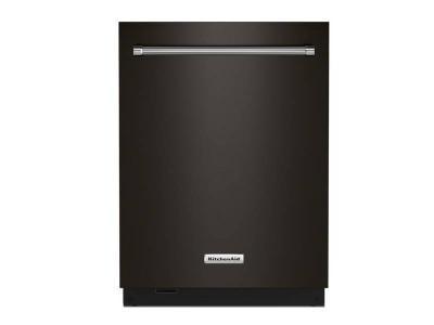 "24"" KitchenAid 44 dBA Dishwasher in PrintShield Finish with FreeFlex Third Rack - KDTM604KBS"