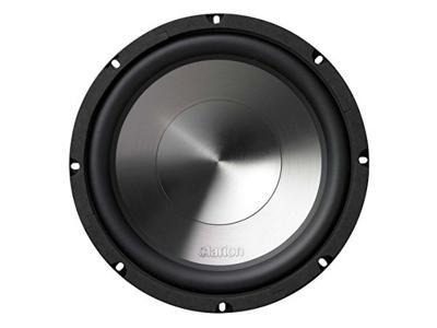 "Clarion 1000W MAX. 10"" DUAL 4-OHM VOICE COIL SUBWOOFER WG2520D"