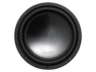 """Clarion 1500W MAX 12"""" Dual 2-ohm Voice Coil Subwoofer WQ3021D"""