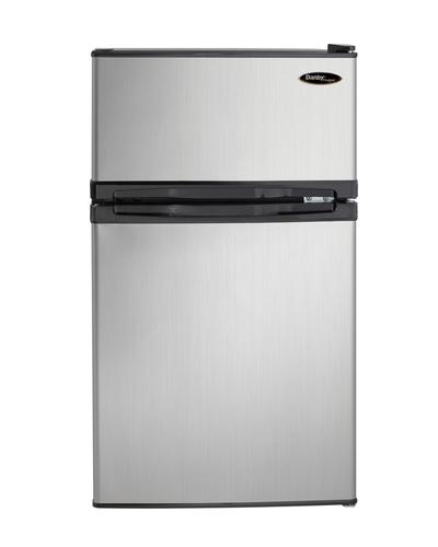 """19"""" Danby 3.10 Cu. Ft. Dual Door Compact Fridge with Freezer - DCR031B1BSLDD"""