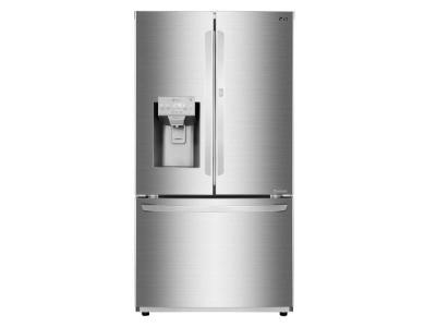 """36"""" LG 28 Cu.ft  French Door Refrigerator With Door - in -Door - LFXS28566S"""