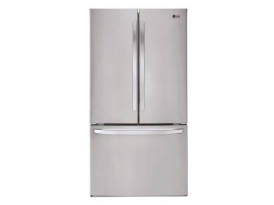 """36"""" LG 29 cu.ft. Ultra-Large Capacity French Door Refrigerator - LFCS28768S"""