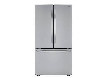 "36"" LG 23 cu.ft. Counter Depth French Door Refrigerator - LFCC22426S"
