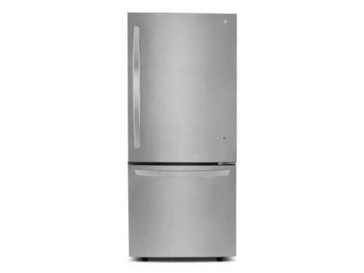 "30"" LG 22 Cu.ft  Bottom Freezer Drawer Refrigerator With Inverter Linear Compressor  - LDNS22220S"