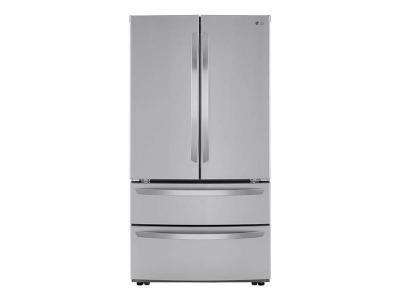 """36"""" LG  4-Door French Door Refrigerator With Internal Water Dispenser - LMWS27626S"""