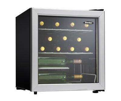 "18"" Danby Countertop Wine Cooler 17.00 Bottles - DWC172BLPDB"