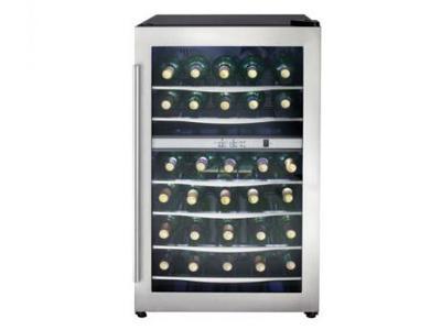 """19"""" Danby Wine Coolers 38.00 Bottles - DWC040A3BSSDD"""