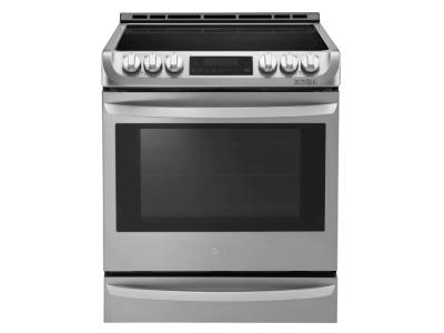 """30"""" LG 6.3 Cu. Ft. Capacity Slide-In Electric Range With ProBake Convection - LSE5615ST"""