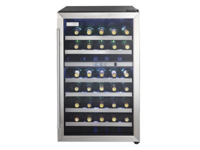 """19"""" Danby Designer 38 Bottle Wine Cooler - DWC114BLSDD"""