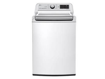 """27"""" LG 5.8 cu.ft Top Load Washer with TurboWash - WT7300CW"""