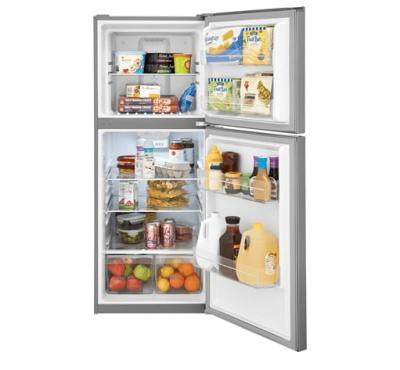"""24"""" Frigidaire 10.1 Cu. Ft. Top Freezer Apartment Size Refrigerator - FFET1022UV"""