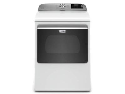 """27"""" Maytag 7.4 Cu. Ft. Smart Top Load Electric Dryer With Extra Power Button - YMED6230HW"""