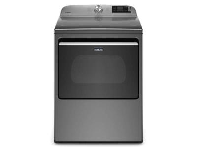 """27"""" Maytag 7.4 Cu. Ft. Smart Top Load Electric Dryer With Extra Power Button - YMED6230HC"""